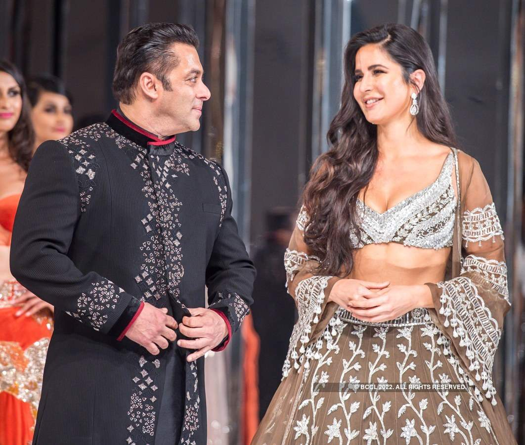 Salman Khan and Katrina Kaif turn showstoppers for Manish Malhotra