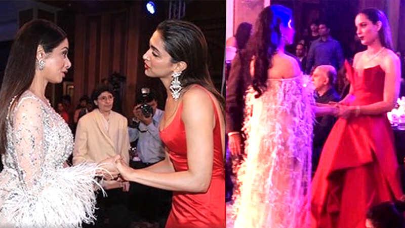 Janhvi Kapoor, Kangana Ranaut recreate Sridevi, Deepika Padukone's throwback moment