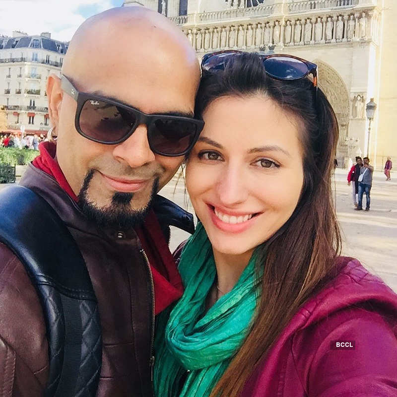 Raghu Ram and wife Natalie Di Luccio share the first pictures of their newborn son