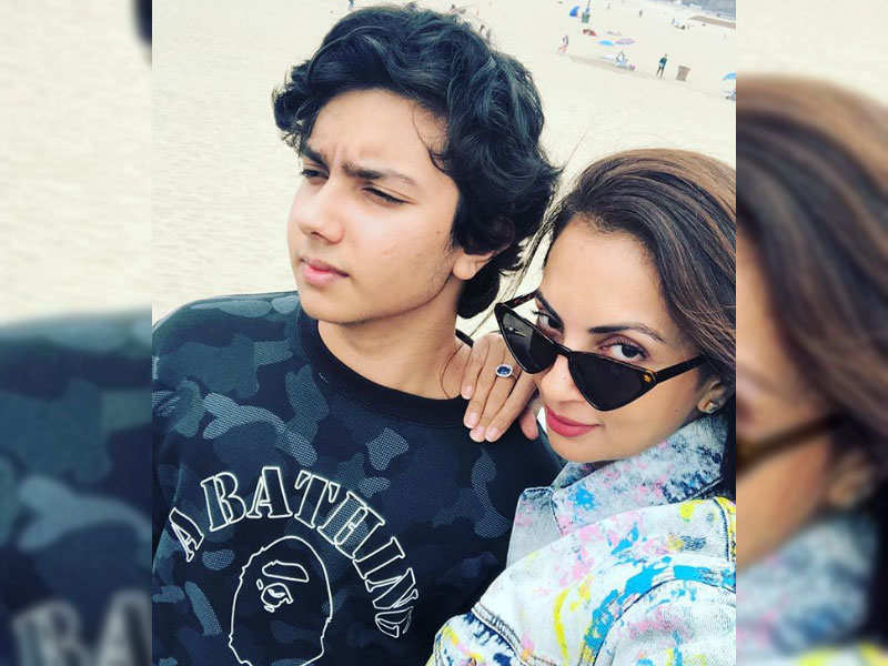 Seema Khan reminisces about her holiday with son Nirvan Khan