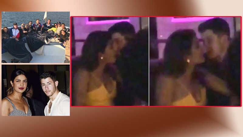 Priyanka Chopra gets cozy with Nick Jonas at a night club