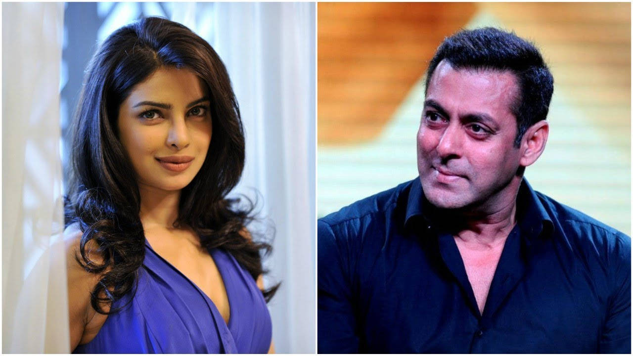 Salman Khan reacts to Priyanka Chopra's exit from 'Bharat'