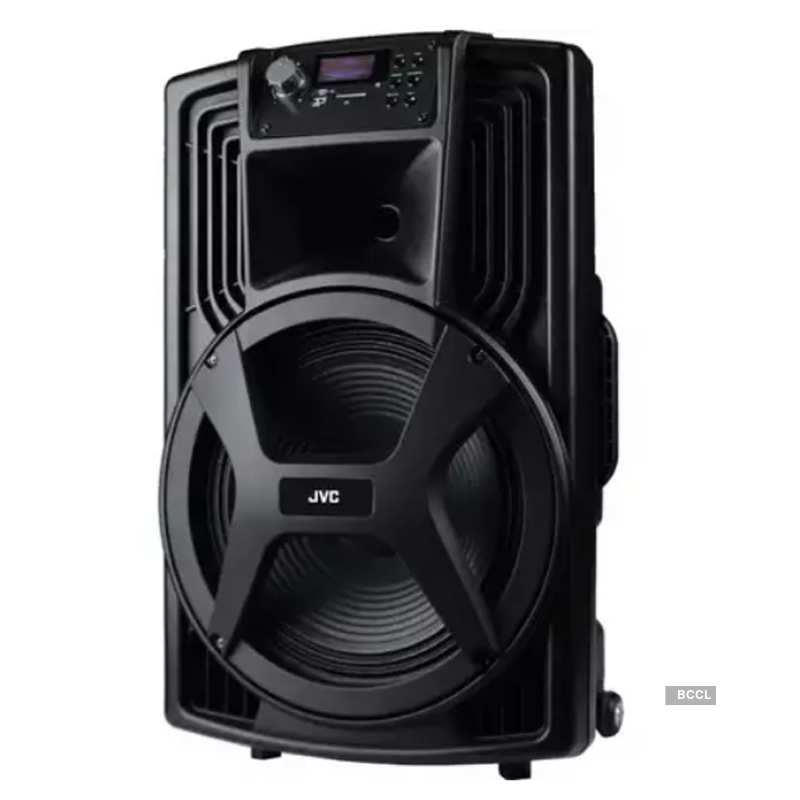JVC launches XS-MC15 trolley speakers