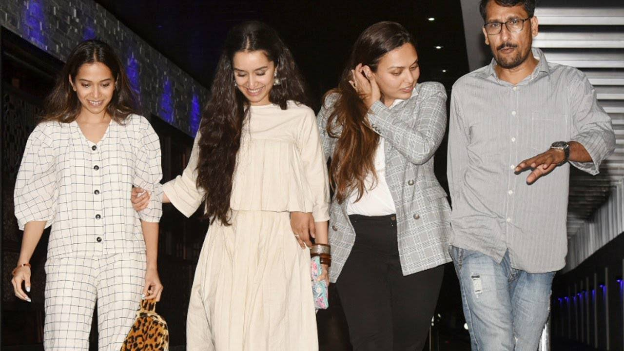 Shraddha Kapoor spotted post dinner outing with friends
