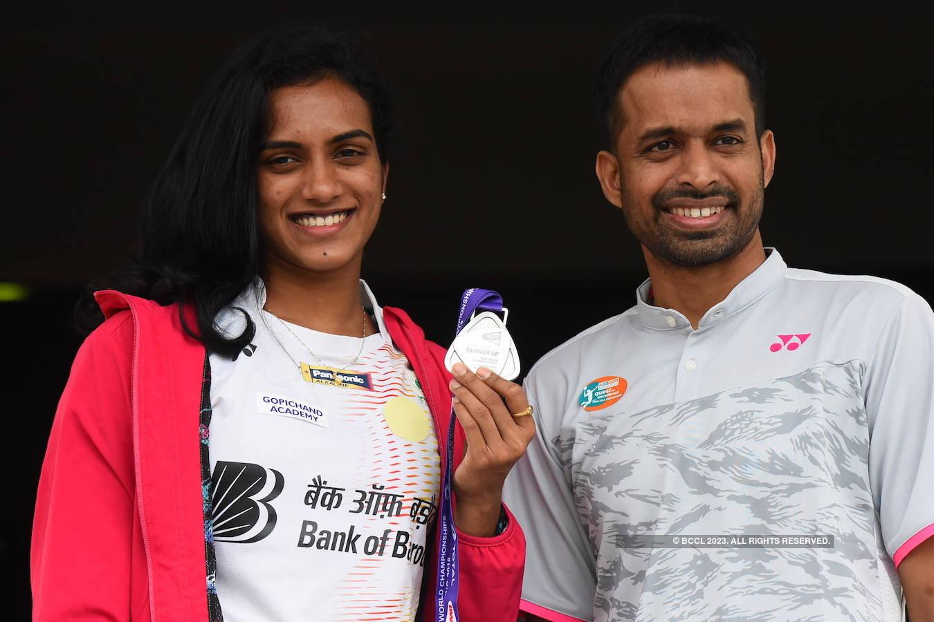 World Badminton championship: P.V. Sindhu wins silver