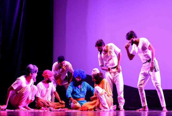 Play Mullah Nasruddin entertained the audience