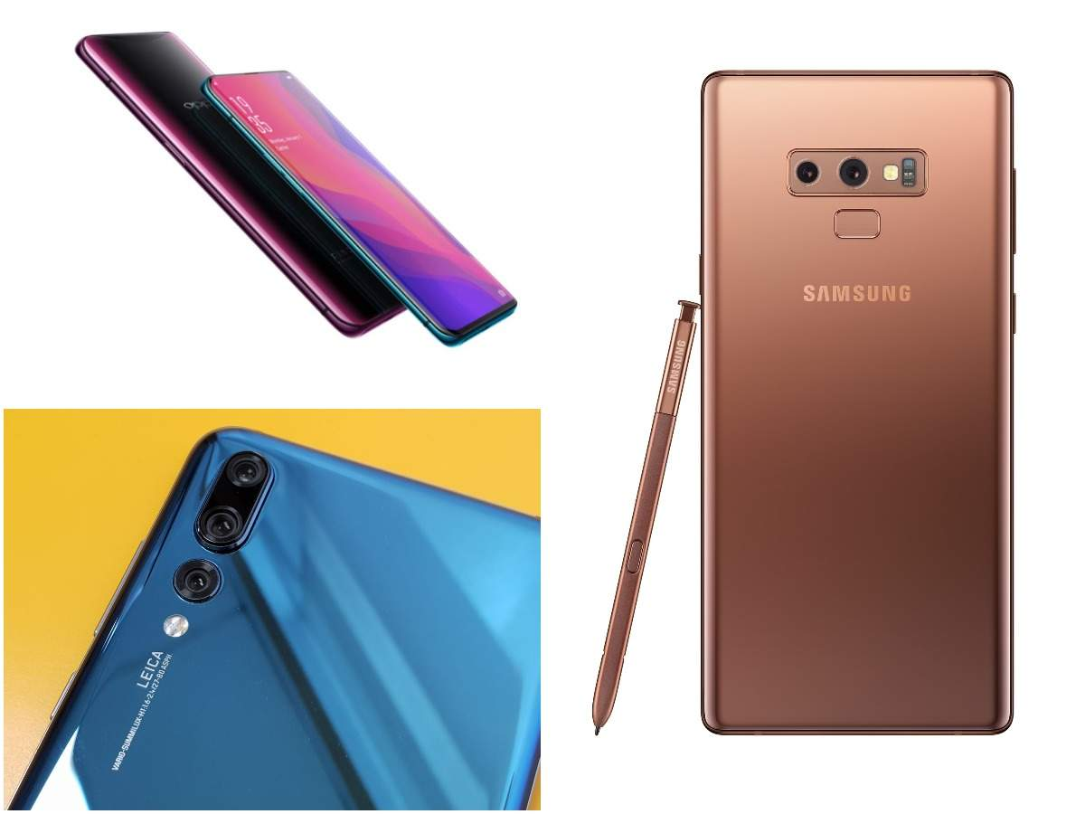 Samsung Galaxy Note9 vs Oppo Find X vs Huawei P20 Pro: Which one is the best | Gadgets Now