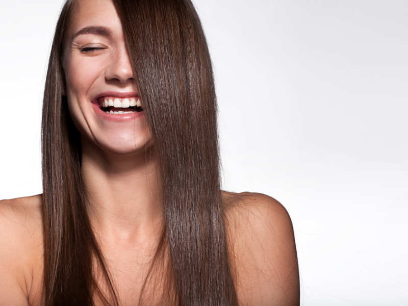 ways to style long straight hair 5 ways to straighten your hair naturally the times of india 1367 | 65352618