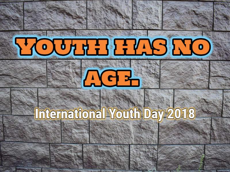 Happy International Youth Day 2018