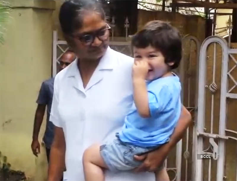Adorable pictures from little Taimur Ali Khan's birthday celebration