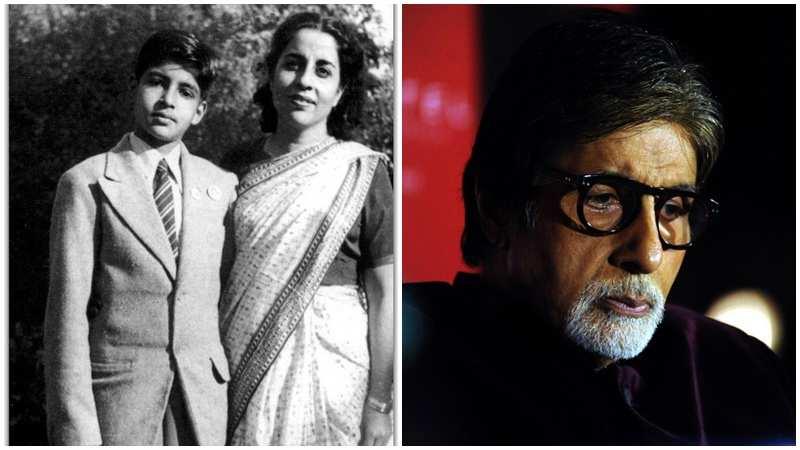 Amitabh Bachchan remembers his mother