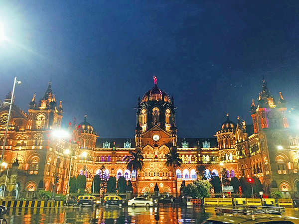 Chhatrapati Shivaji Maharaj Terminus (Mumbai) goes Gold