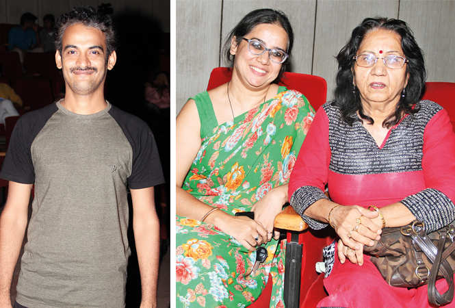 (L) Raghvendra (R) Sadaf Jafar and Mridula Bhardwaj (BCCL/ Aditya Yadav)