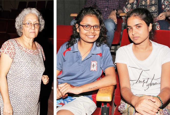 (L) Kanchan Sinha (R) Ankita and Kajal  (BCCL/ Aditya Yadav)
