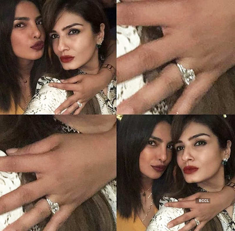 Inside pictures from Manish Malhotra's party, Priyanka Chopra flaunts her engagement ring