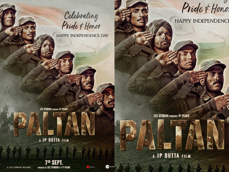 Check Out The Brand New Poster Of Jp Dutta S Upcoming Film Paltan