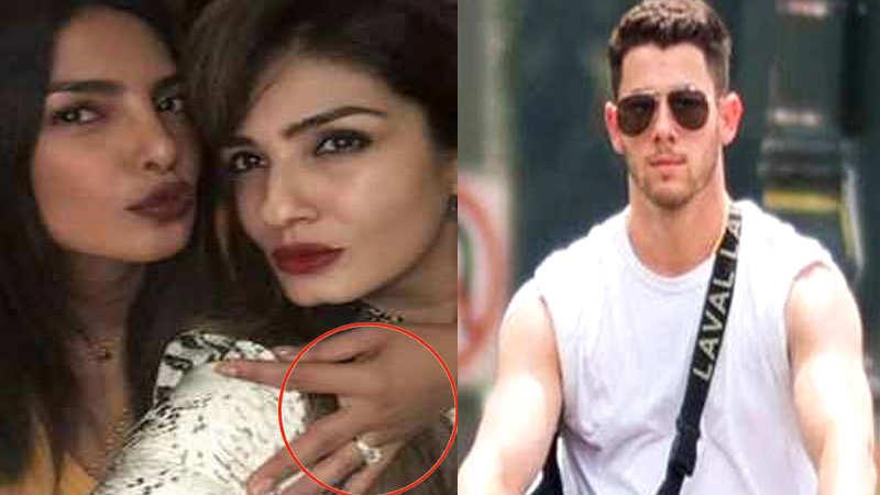 Priyanka Chopra flaunts her engagement ring