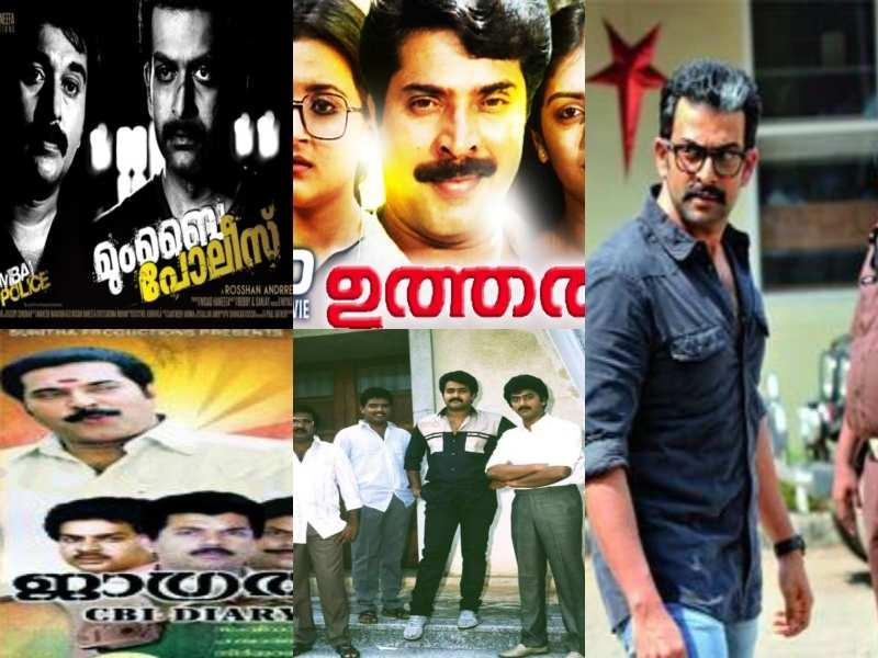 Five best investigative crime thrillers in Malayalam cinema