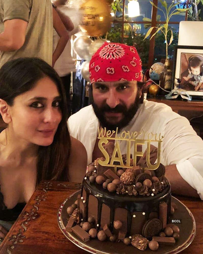 Inside pictures of Saif Ali Khan's birthday celebration
