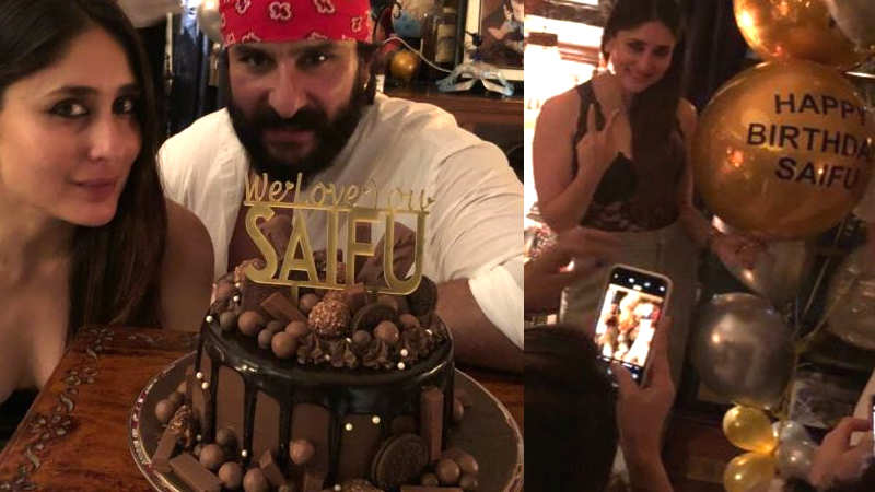 Saif Ali Khan rings in birthday with wife Kareena Kapoor Khan and other family members