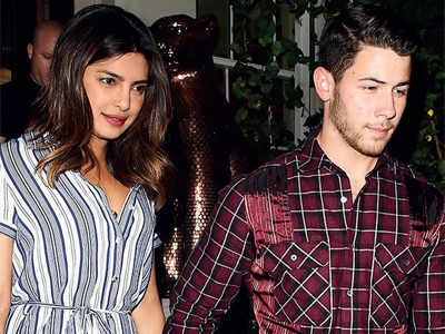 Celebrations begin for Priyanka Chopra, Nick Jonas' engagement