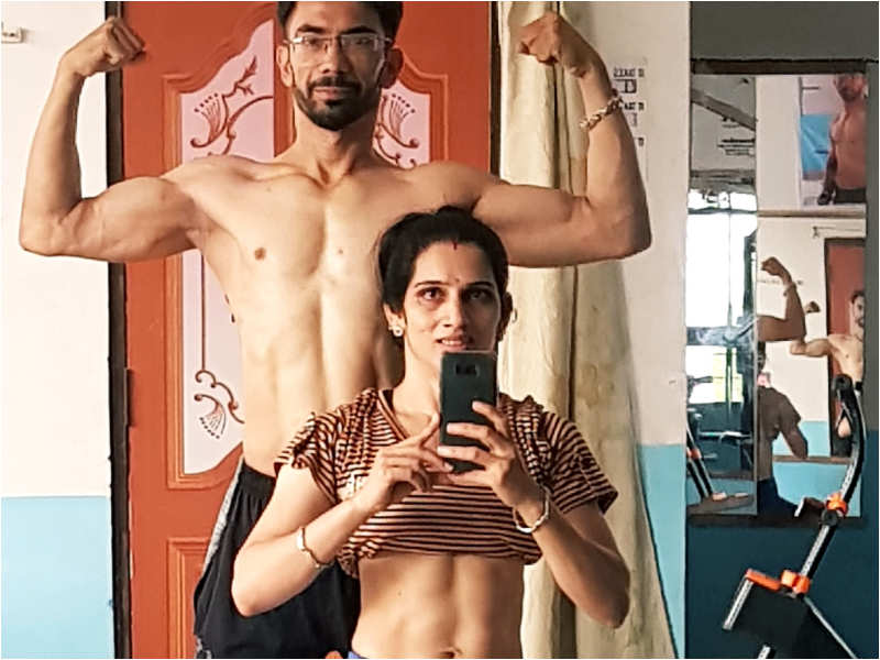 This girl lost 20 kgs in 7 months without gym and despite eating