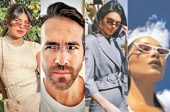 The return of the tiny sunglasses - Times of India e9b436e0ef9e0