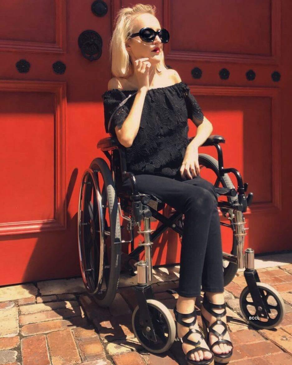 Meet the 'Wheelchair Barbie', Madison Lawson