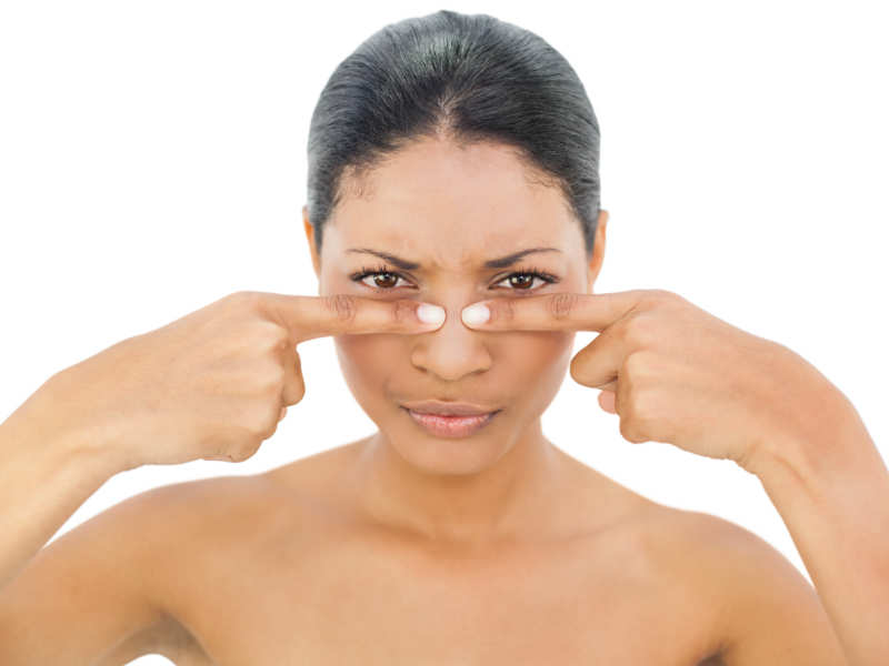 How to remove blackheads at home | The Times of India
