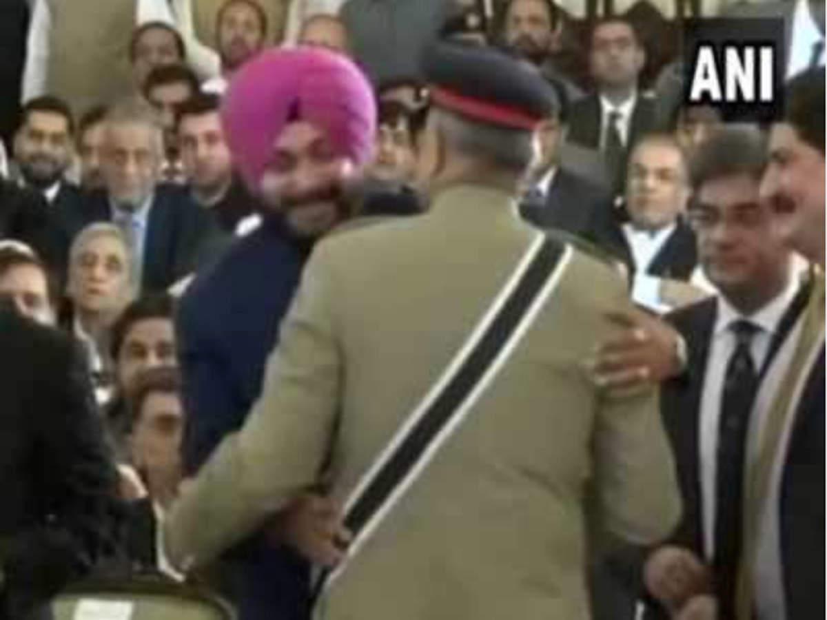 Navjot Singh Sidhu justifies hugging General Bajwa, says he
