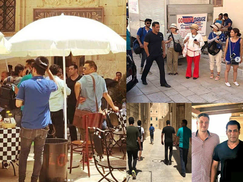 Bharat salman khan meets and greets fans on malta sets bharat salman khan meets and greets fans on malta sets m4hsunfo