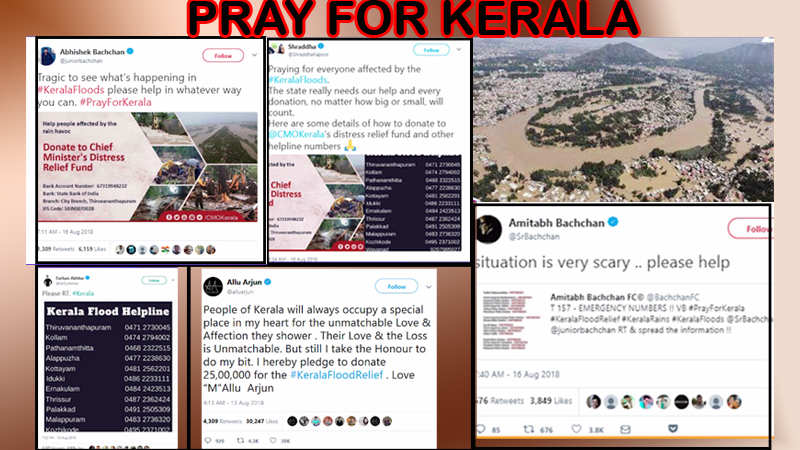 Kerala floods: Bollywood stars appeal for victims