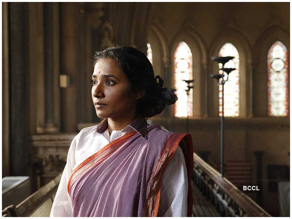 Tannishtha Chatterjee in a still from the movie