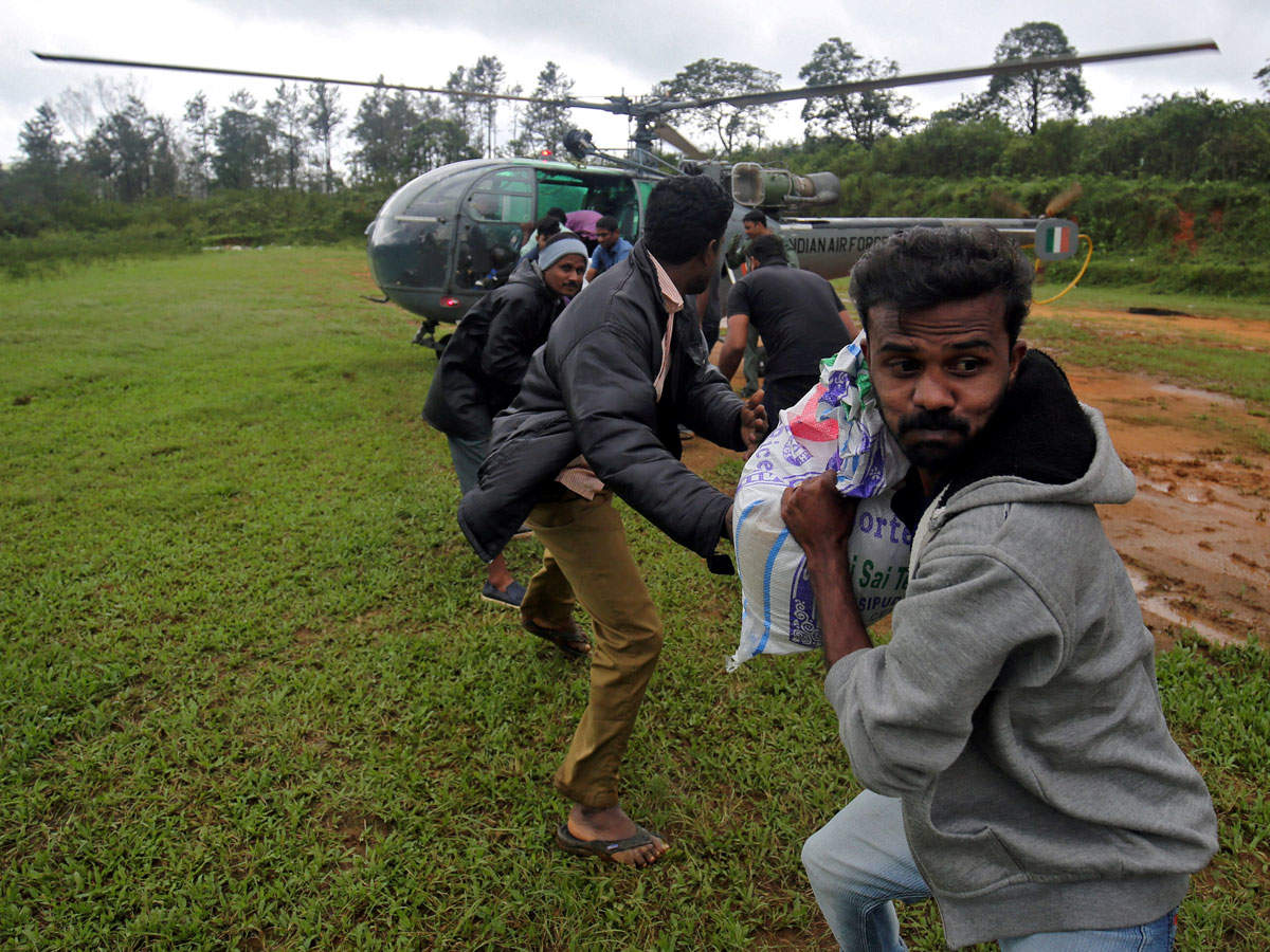 Kerala Floods Well Cleaners Electricians And Plumbers In High House Wiring Materials India Grateful But Wont Accept Foreign Donations For