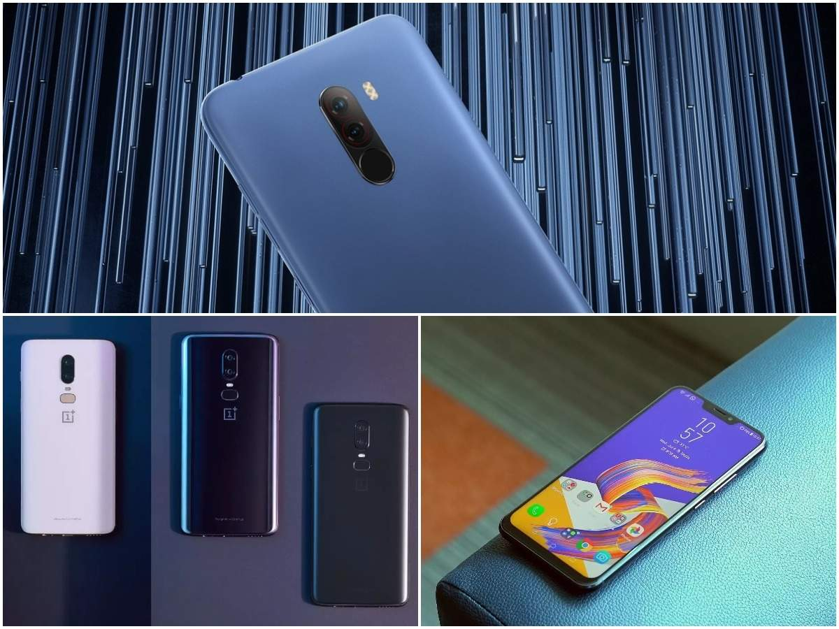 Xiaomi Poco F1 vs OnePlus 6 vs Asus Zenfone 5Z