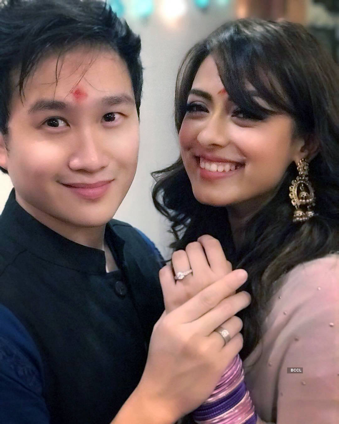 'Happy Phirr Bhag Jayegi' star Jason Tham got engaged to longtime girlfriend Deeksha Kanwal Sonalkar