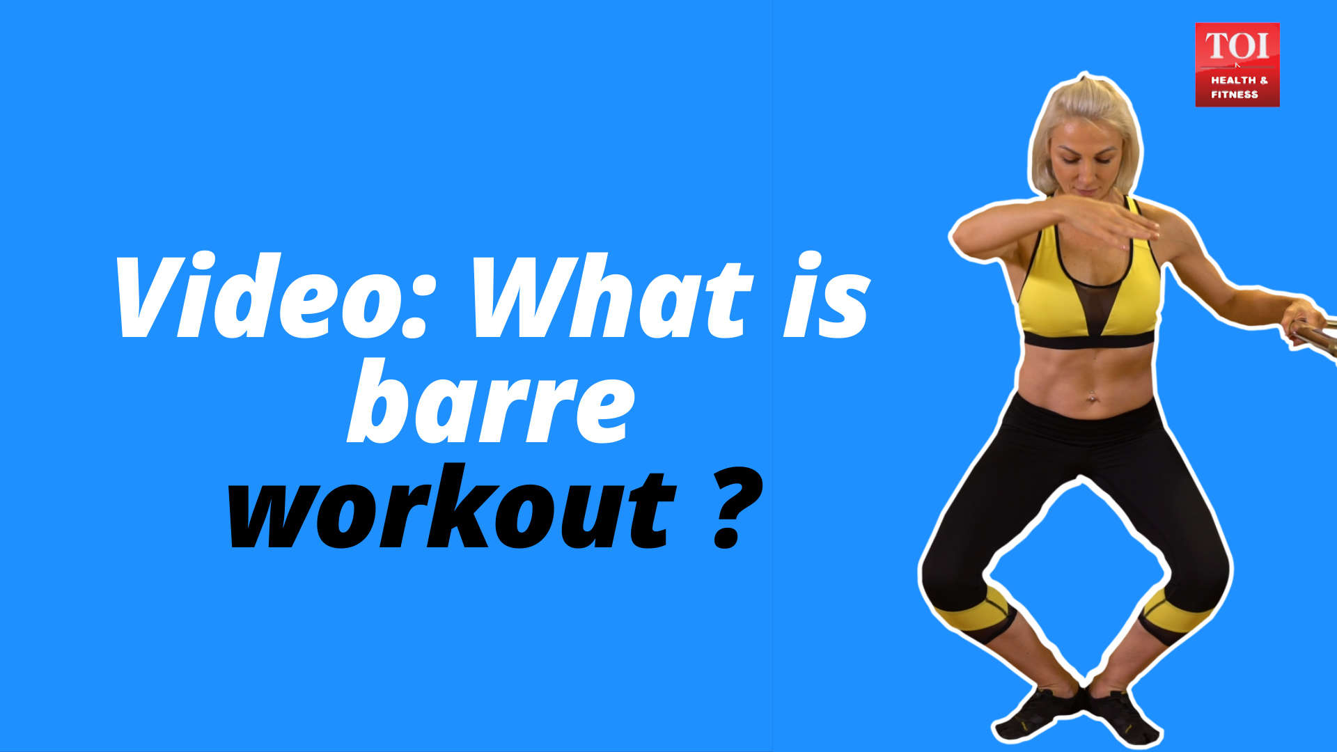 What is barre workout?