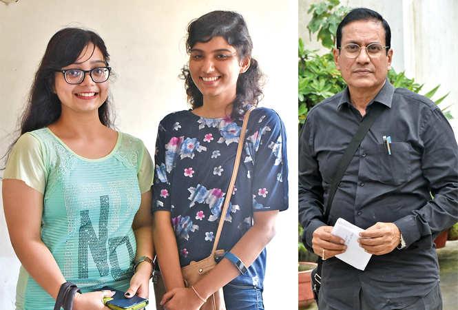 (L) Neha and Swati Singh (R) Sangam Bahuguna (BCCL/ Vishnu Jaiswal)