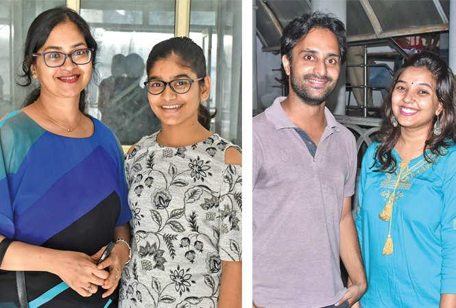 (L) Priti and  Aditi Rastogi (R) Rahul and Bhavya (BCCL/ Vishnu Jaiswal)