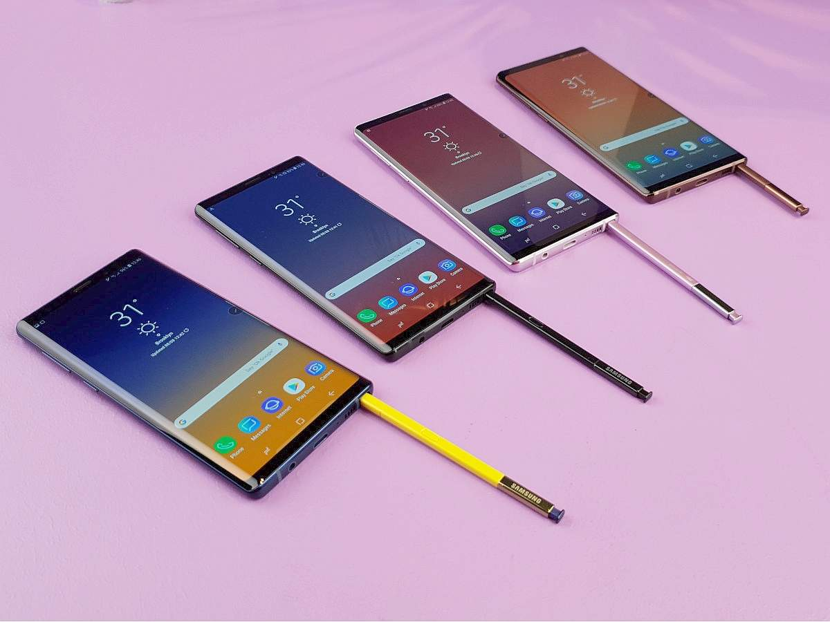 Samsung Galaxy Note 9 comes to India