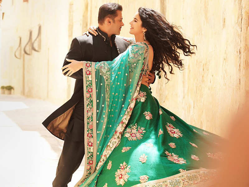 Image result for latest images of katrina kaif with salman khan from bharat movie