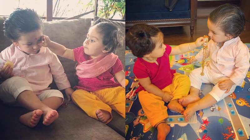 Taimur Ali Khan, Inaaya Naumi Kemmu's first Raksha Bandhan pics will melt your heart