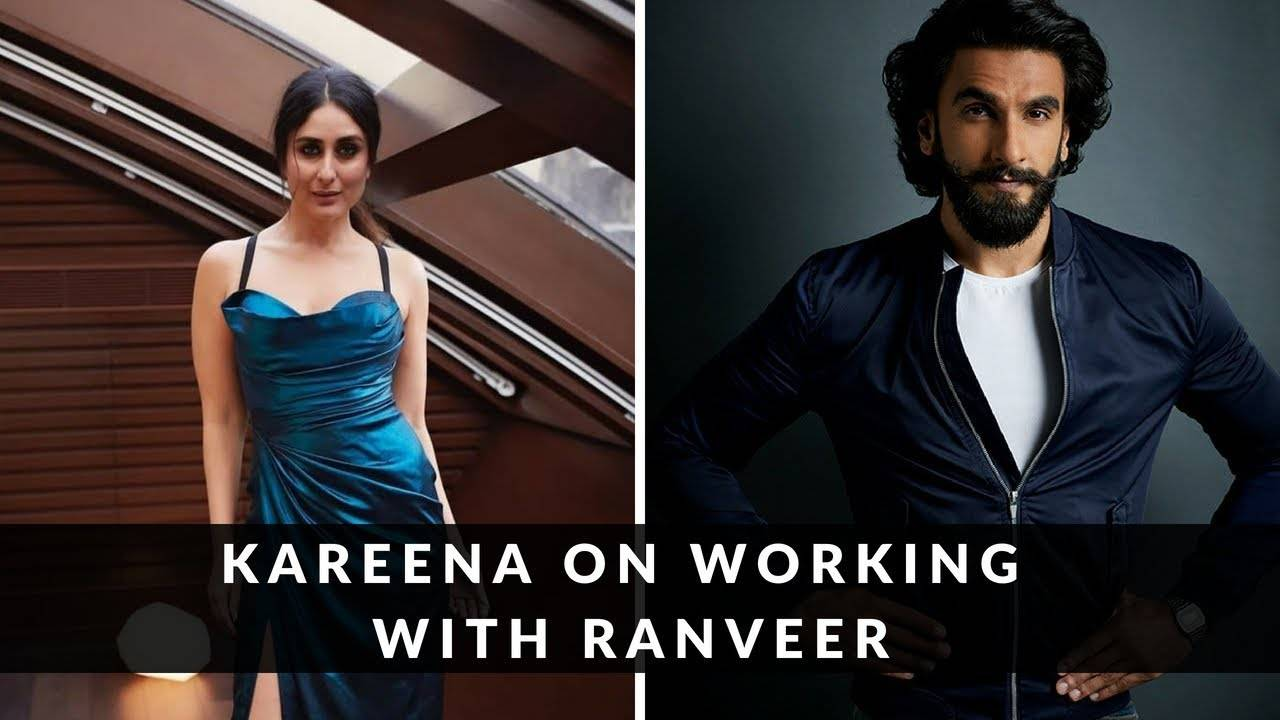 Takht: Kareena Kapoor Khan opens up about working with Ranveer Singh