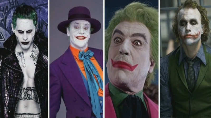 The best Joker roles played by celebs in Batman films and TV shows