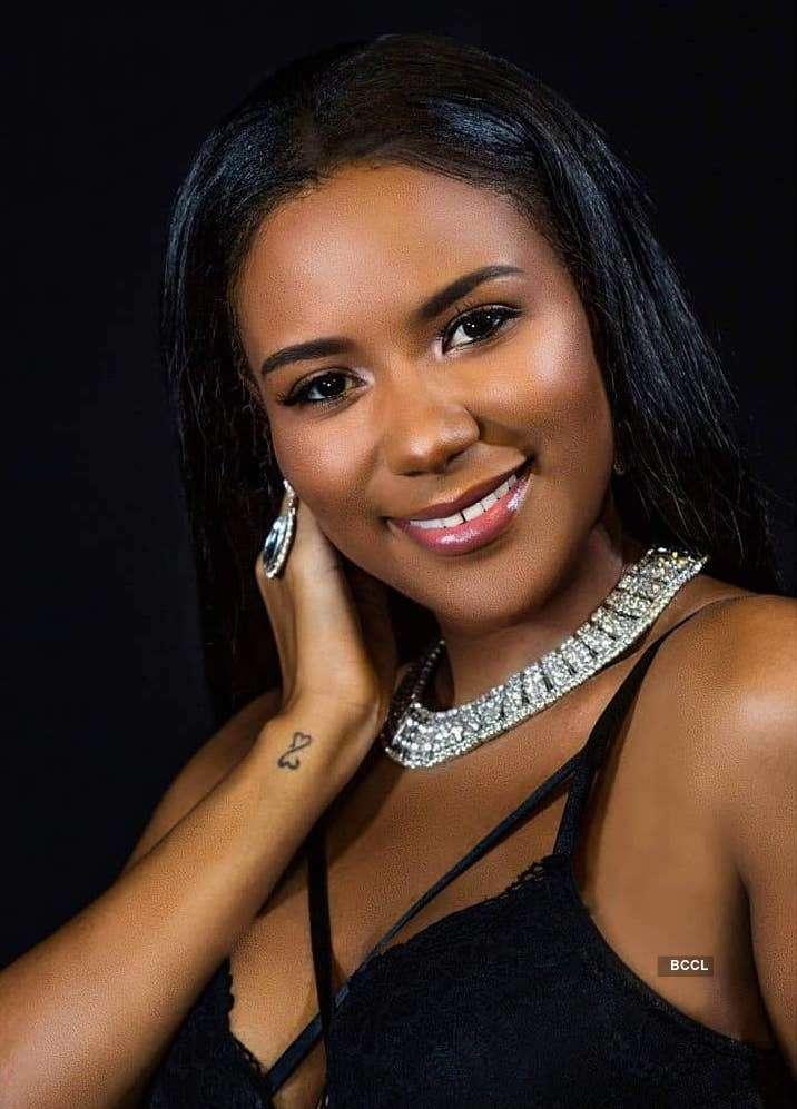 Jenelli Fraser wins Miss Universe Belize 2018