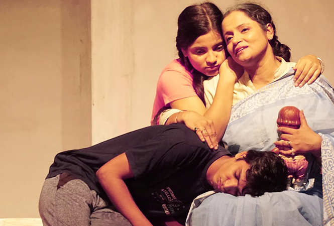 A scene from the play (BCCL)