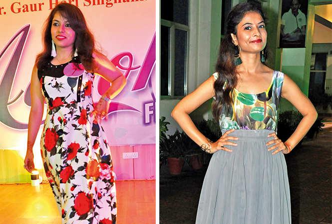 (L) Arushi (R) Ayushi Verma (BCCL/ AS Rathor)