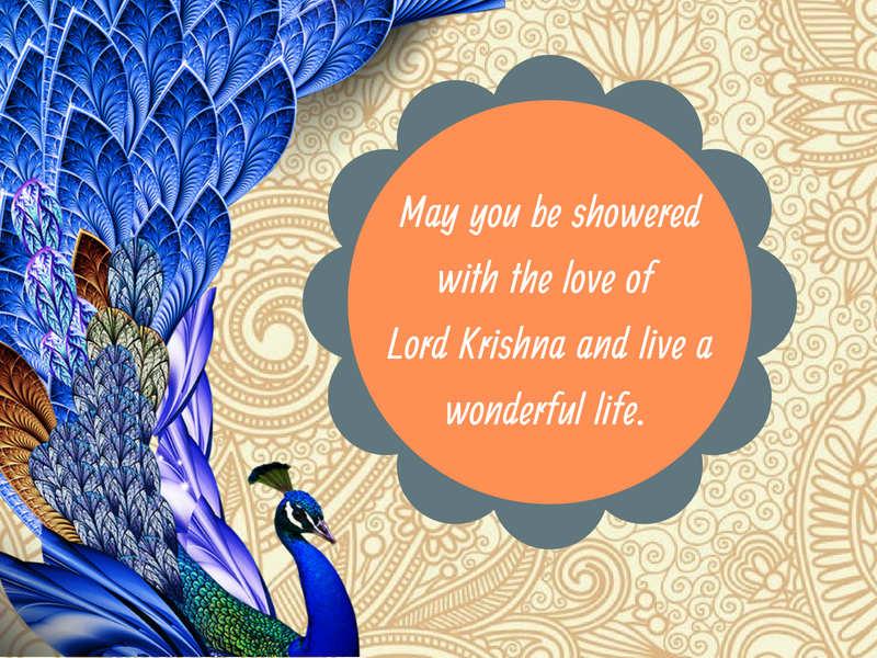 Krishna Janmashtami Images, Messages, Wishes, Status