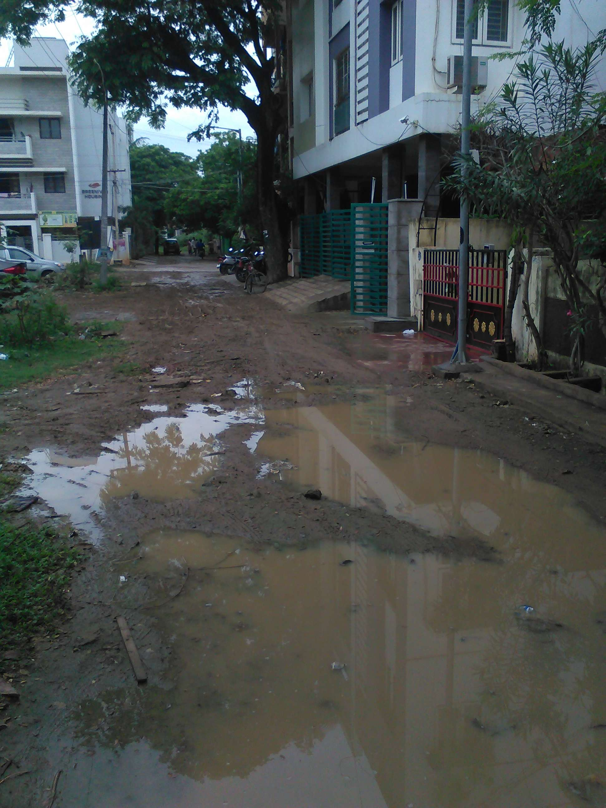report on bad condition of roads in the city