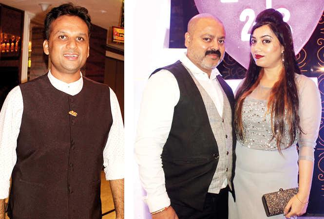(L) Khushal Bhargava (R) Samrat and Monalisa (BCCL/ Arvind Kumar)